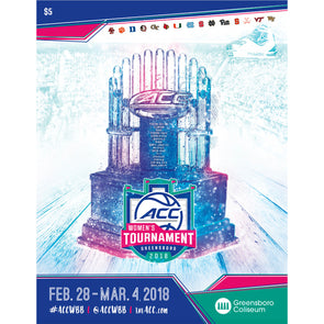 2018 ACC Women's Basketball Tournament Program