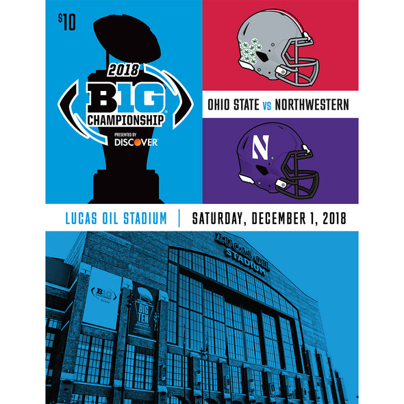 2018 Big Ten Football Championship Game Program