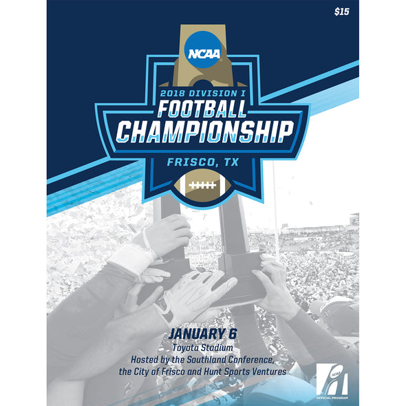 2018 NCAA Division I Football FCS Championship Program