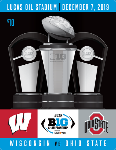 2019 Big Ten Football Championship Game Program