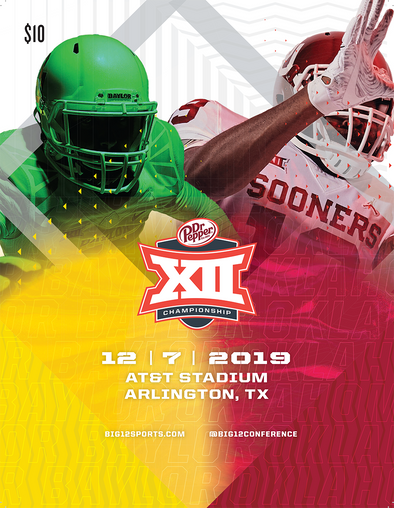 2019 Big 12 Football Championship Game Program