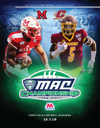 2019 MAC Football Championship Game Program