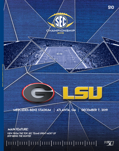 2019 SEC Football Championship Game Program
