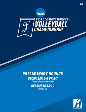 2019 NCAA Division I Women's Volleyball Preliminary Rounds Program