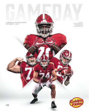 2019 Alabama Football Gameday Program vs New Mexico State