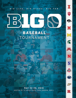 2019 Big Ten Baseball Tournament Program