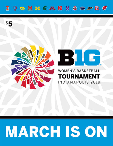 2019 Big Ten Women's Basketball Tournament Program