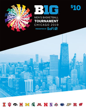 2019 Big Ten Men's Basketball Championship Tournament Program