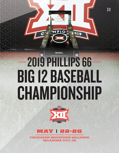 2019 Big 12 Baseball Championship Program