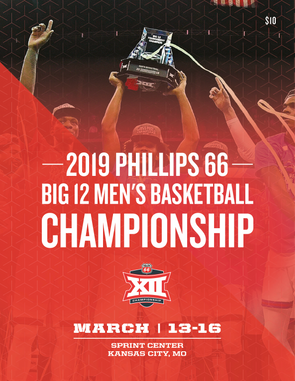 2019 Big 12 Men's Basketball Championship Tournament Program