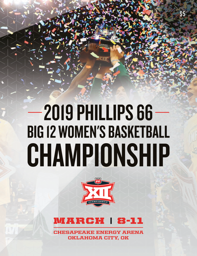 2019 Big 12 Women's Basketball Championship Tournament Program