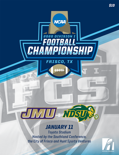 2020 NCAA Division I Football FCS Championship Program