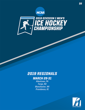 2019 Division I Men's Ice Hockey Championship regionals program