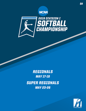 2019 NCAA Division I Softball Championship Regional and Super Regional Program