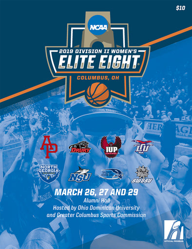 2019 NCAA Division II Women's Elite Eight Program