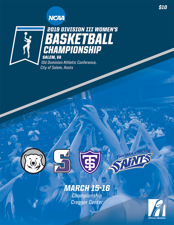 2019 NCAA Division III Women's Basketball Championship Tournament Program