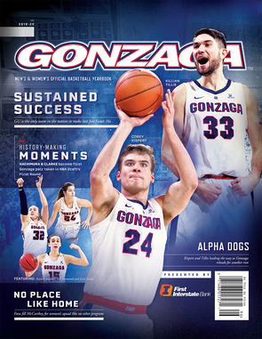 2019-20 Gonzaga Men's and Women's Basketball Official Yearbook