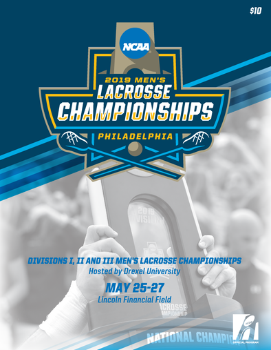 2019 NCAA Divisions I, II and III Men's Lacrosse Championship Program