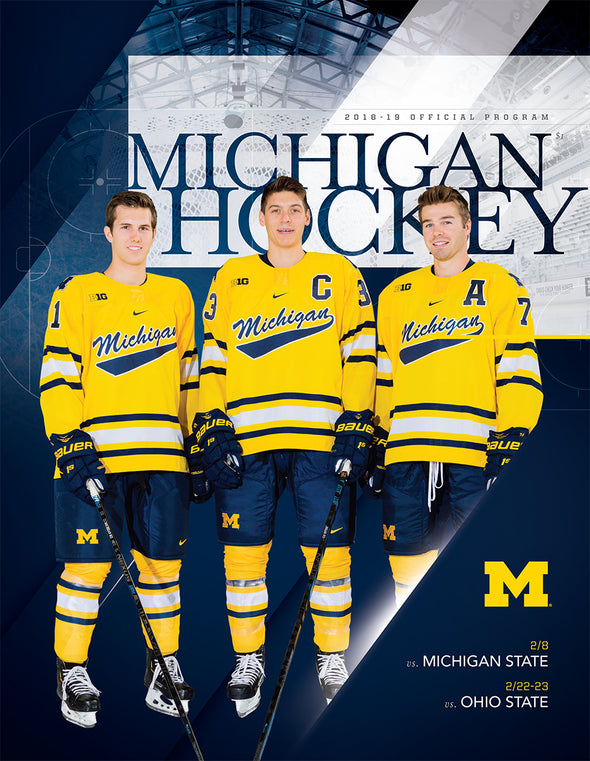 2018-19 Michigan Hockey Official Program (2.18-2.23)