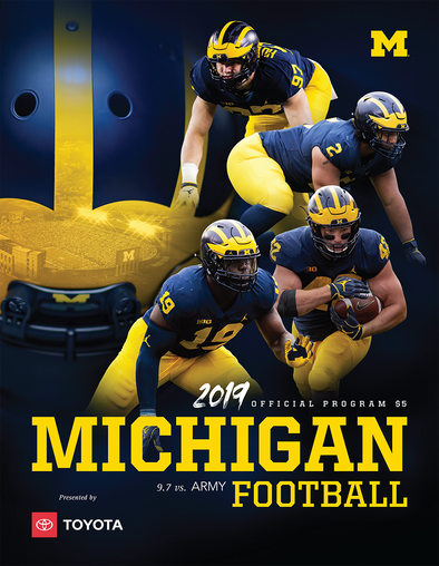 2019 Michigan Football Program vs. Army