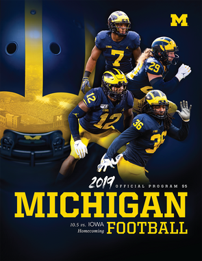 2019 Michigan Football Program vs. Iowa