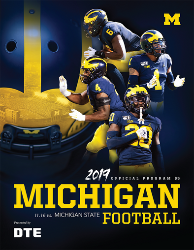 2019 Michigan Football Program vs. Michigan State