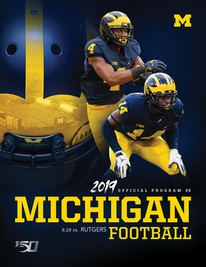 2019 Michigan Football Program vs. Rutgers