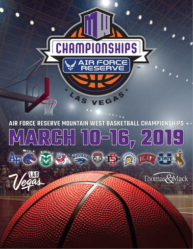 2019 Mountain West Basketball Tournament Program