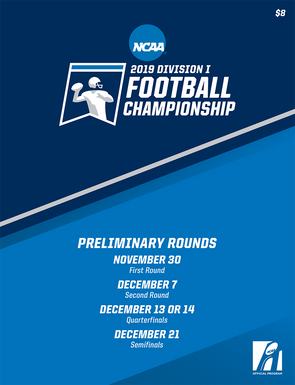 2019 NCAA Division I Football Championship Preliminary Rounds Program