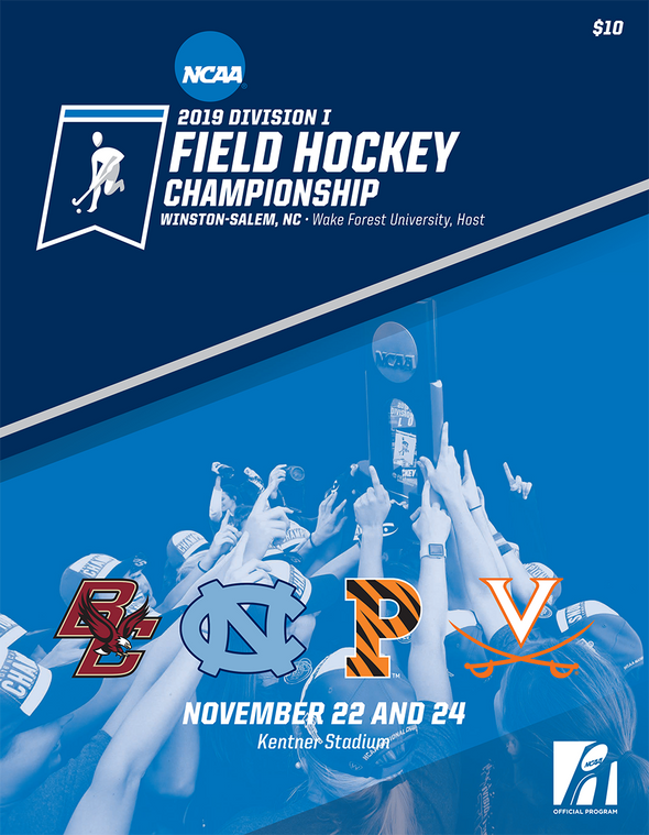 2019 NCAA Division I Field Hockey Championship Program