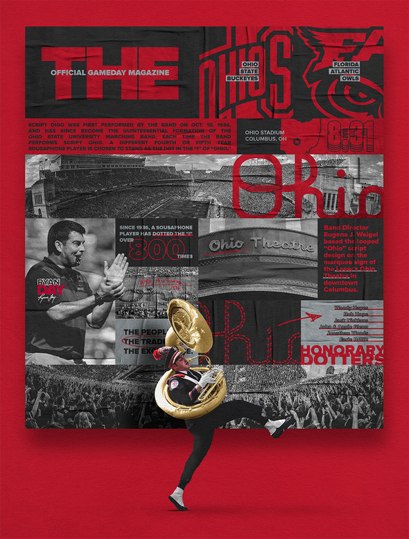 2019 Ohio State Football Official Gameday Program vs. FAU