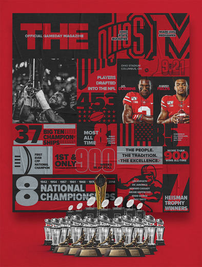 2019 Ohio State Football Official Gameday Program vs. Miami (OH)