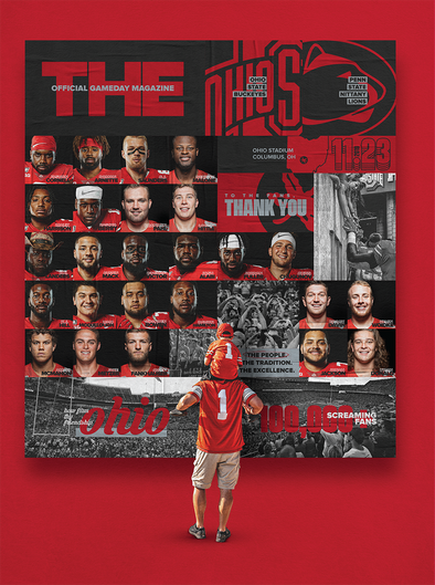 Ohio State Football Official Gameday Program vs. Penn State