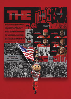 2019 Ohio State Football Official Gameday Program vs. Wisconsin