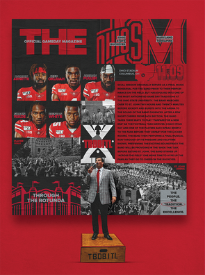 Ohio State Football Official Gameday Program vs. Maryland
