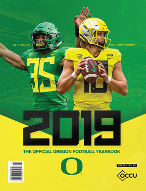 The Official 2019 Oregon Football Yearbook