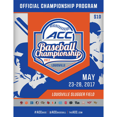 2017 ACC Official Baseball Championship Program