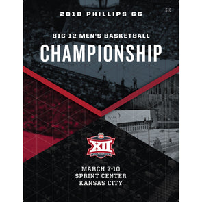 2018 Big 12 Men's Basketball Championship Program