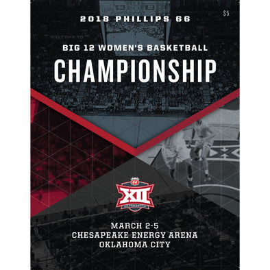 2018 Big 12 Women's Basketball Championship Program