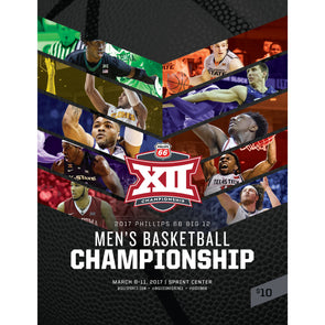 2017 Big 12 Men's Basketball Championship Program