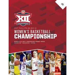 2017 Big 12 Women's Basketball Championship Program