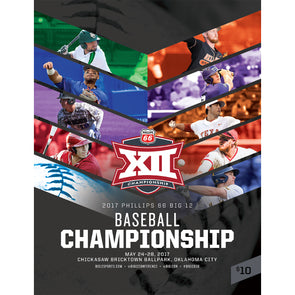 2017 Big 12 Baseball Tournament Program