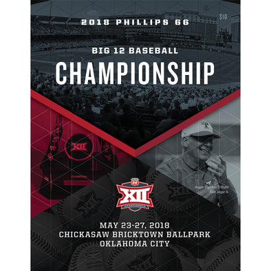 2018 Big 12 Baseball Championship Program