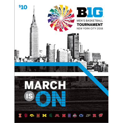 2018 Big Ten Men's Basketball Tournament Program