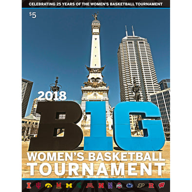 2018 Big Ten Women's Basketball Tournament Program