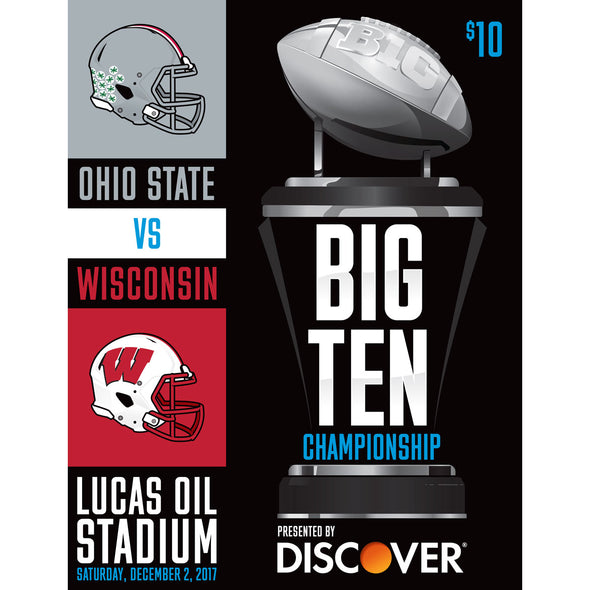 2017 Big Ten Football Championship Program