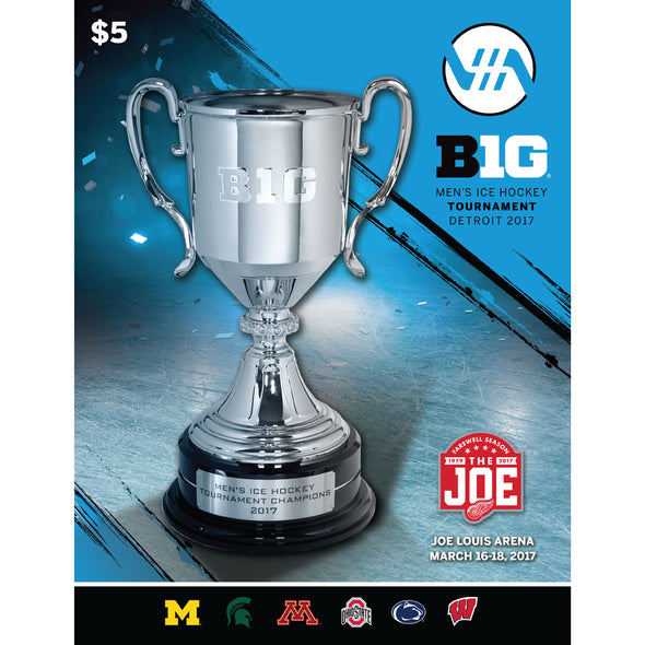 2017 Big Ten Men's Ice Hockey Championship Program