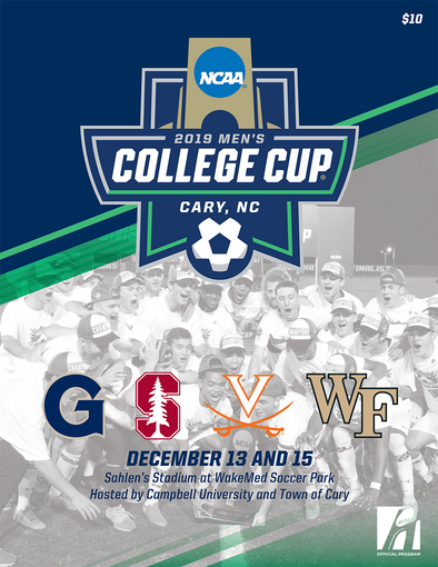 2019 NCAA Division I Soccer Men's College Cup Program