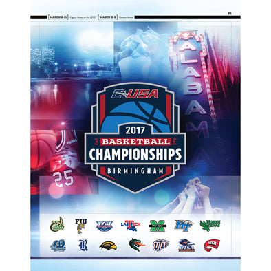 2017 Conference USA Basketball Championship Program
