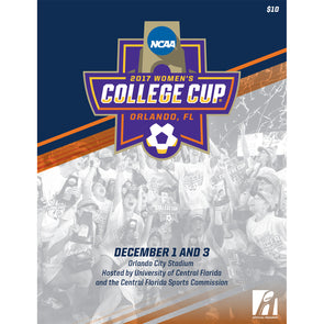 2017 NCAA Division I Soccer Women's College Cup Program